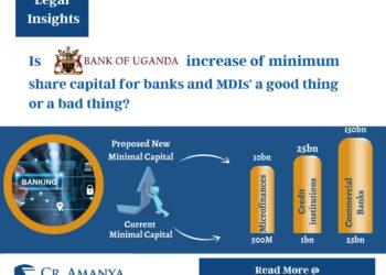 Bank of Uganda Minimum Capital Increases
